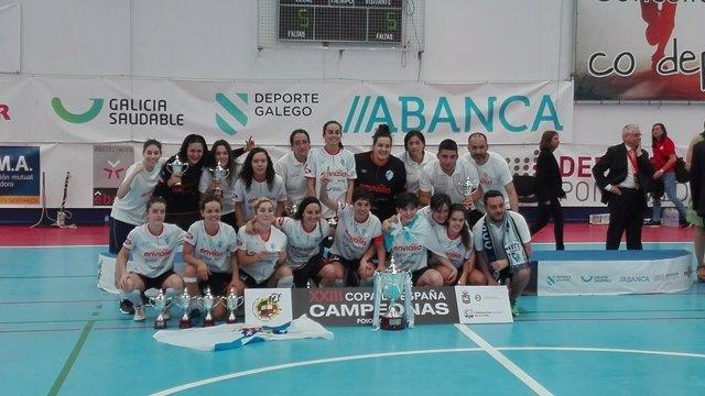 Ourense Envialia Copa España campeón