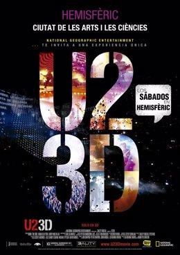 U2 en 3D, una de las novedades del programa de verano de Hemisfèric