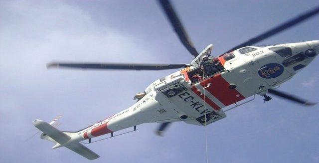 ÛHelimer 203' efectuando labores de rescate