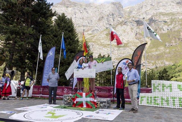 Entrega de Premios del VIII Km Vertical de Fuente Dé