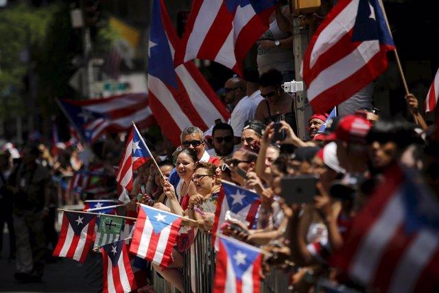 Desfile nacional del día de Puerto Rico en Nueva York