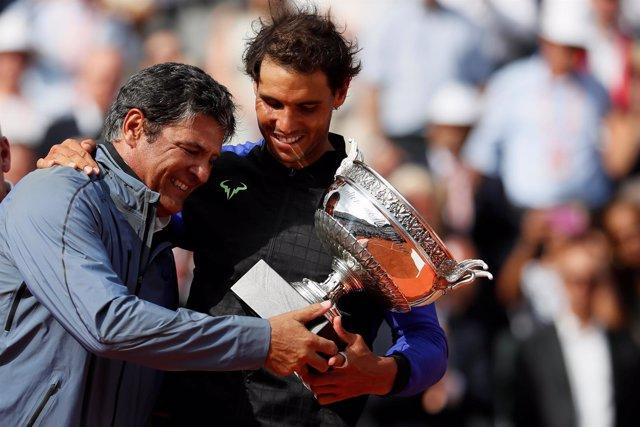 El tío y entrenador de Rafa Nadal, Toni Nadal