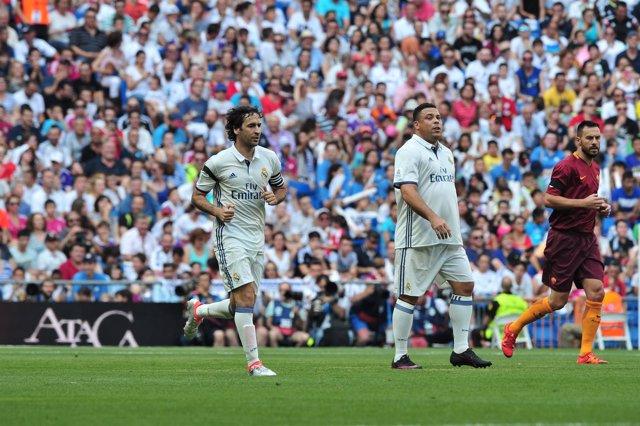 El Real Madrid se impone con superioridad a la Roma en la fiesta del Corazón