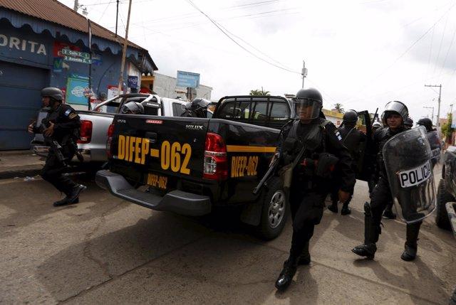 Policia guatemala