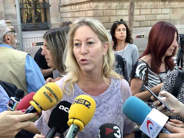 La consellera de la Generalitat Neus Munté