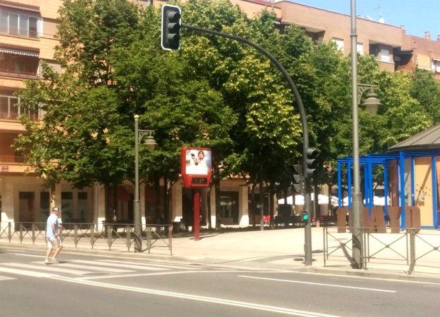 Calor en Logroño