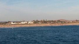 Sigue la búsqueda del desaparecido desde el sábado en la playa de El Palmar