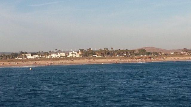 Búsqueda del bañista desaparecido en El Palmar (Vejer, Cádiz)