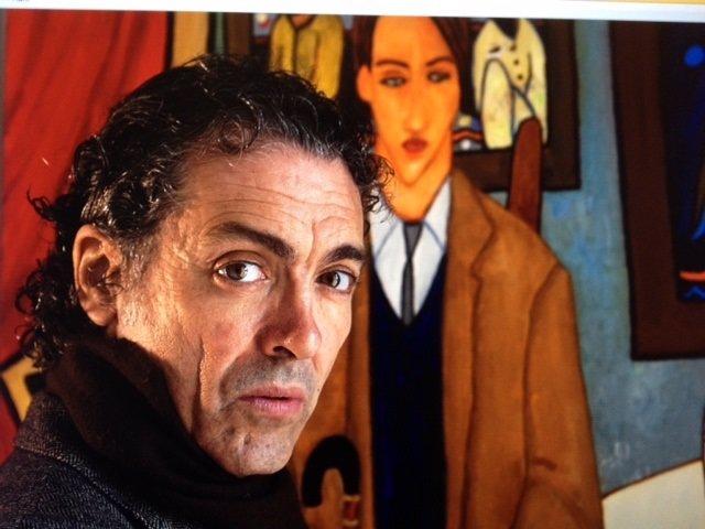 El pintor Antonio Camaró