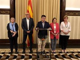 Joan Josep Nuet apela a la Constitución para defender que el Parlament debata sobre el referéndum
