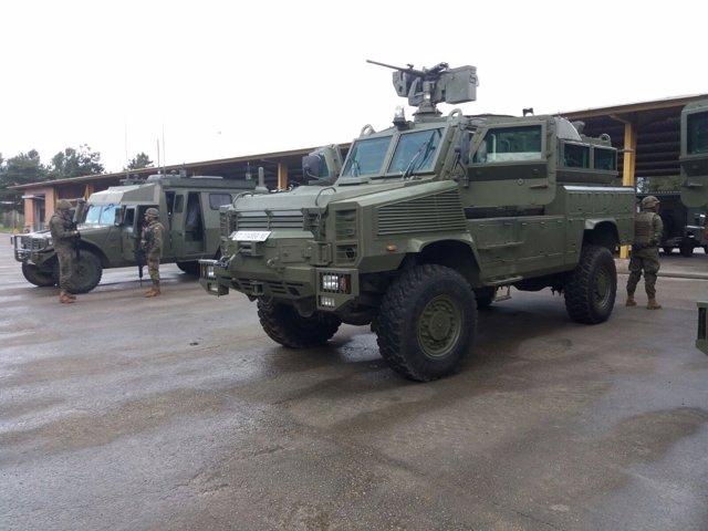Vehículos militares, ejercito español