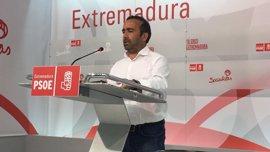 """El PSOE resalta que la Junta seguirá adelante con las inversiones en infraestructuras pese a la """"pinza"""" de PP y Podemos"""