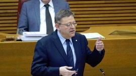 PP y Cs preguntarán a Puig en las Corts por el balance de los dos años del Consell