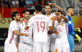 Más de 4,6 millones de telespectadores vieron la victoria española en Macedonia