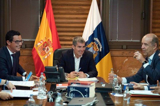 Consejo de Gobierno del 12 de junio: Rodríguez, el presidente Clavijo y Ortega
