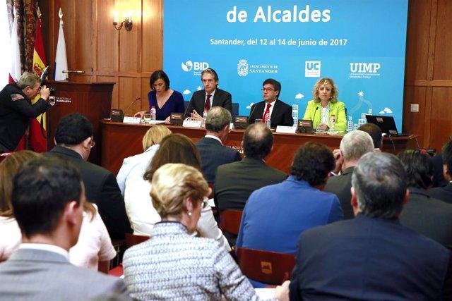 9:00Salón Riancho, Palacio De La Magdalena La Vicepresidenta Y Consejera De Un