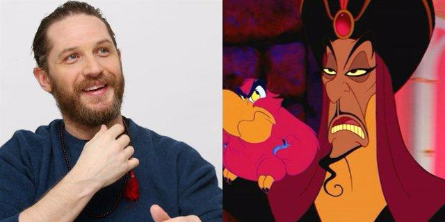 Tom Hardy podría ser Jafar en Aladdin