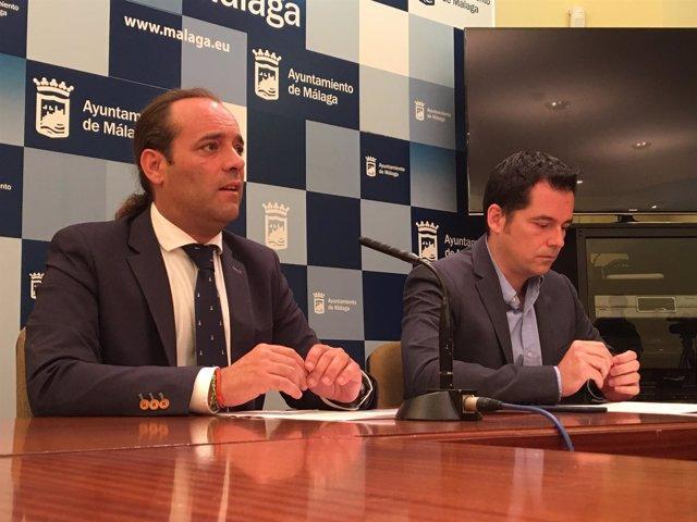 Juan Cassá y Alejandro Carballo en rueda de prensa