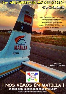 Valladolid, cartel del evento de Matilla