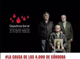 'Dejadnos llorar' lleva este martes al Pleno municipal 'La causa de los 4.000 de Córdoba'