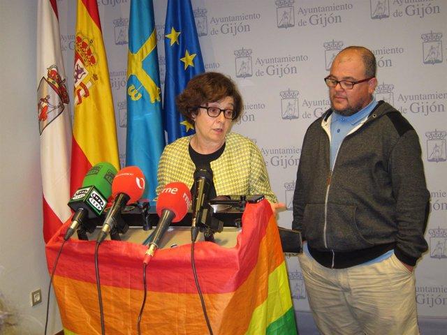 Ana Castañoiu Y Mané Fernández (Miembro Junta Directiva Xega)
