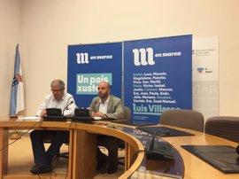 Luís Villares saluda que se permitiera salir a la protesta contra el desalojo de un local okupa y que no hubiese heridos