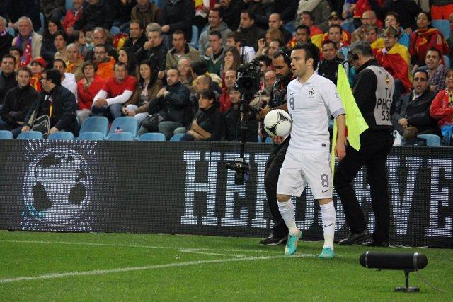 Mathieu Valbuena Selección Francia