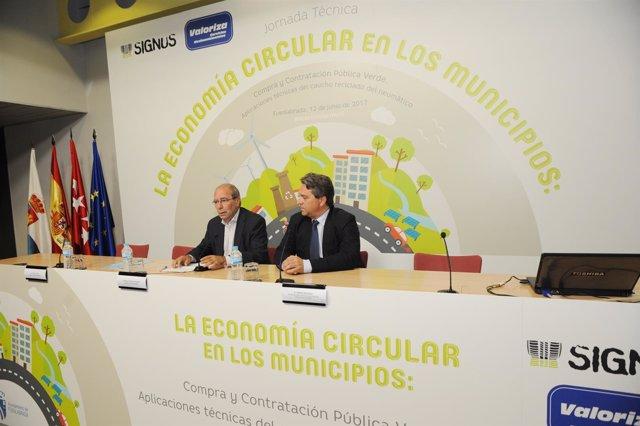 Fuenlabrada Ha Reutilizado Más De 200.000 Neumáticos Para Obras Municipales