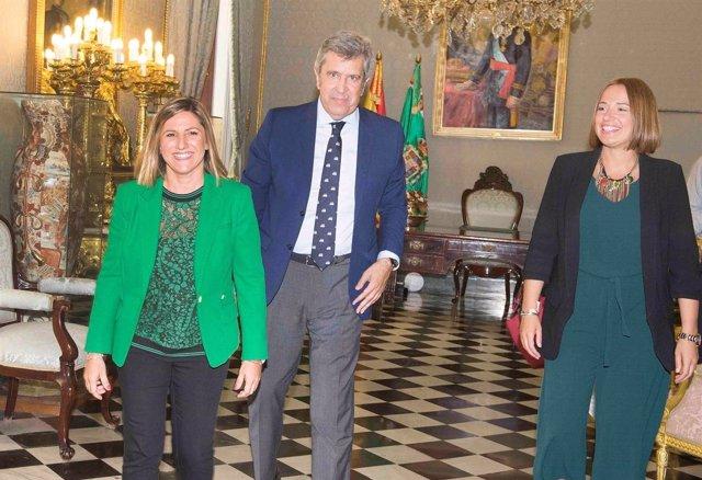 Reunión entre Diputación e Incyde