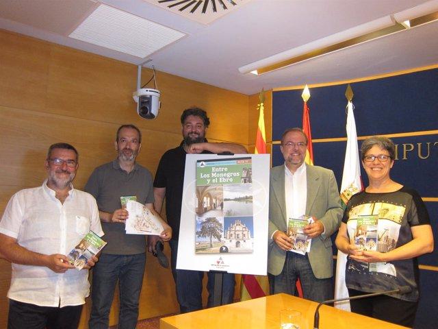 Presentación de la guía 'Entre Los Monegros y el Ebro' en la DPZ