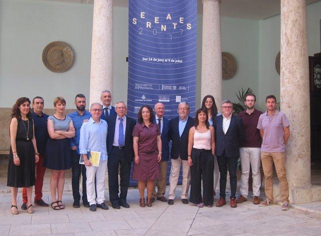 Presentación de la 30 edición del Festival Serenates de València