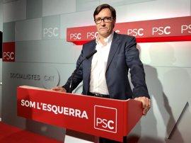 """El PSC ve un """"chantaje"""" que Puigdemont quiera ir ahora al Congreso"""