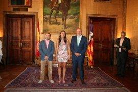 Natalia Troya, Cristina Ballester, Paula Ginard y Jaume Alzamora toman posesión de las nuevas direcciones insulares