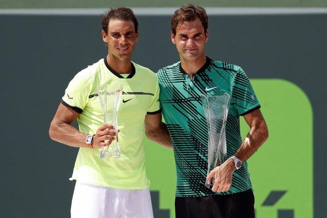 Rafa Nadal queda segundo en el torneo de Miami contra Federer.
