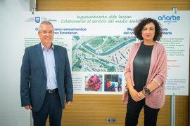 Diputación de Gipuzkoa y Aguas del Añarbe acuerdan mejorar el saneamiento del río Oiartzun