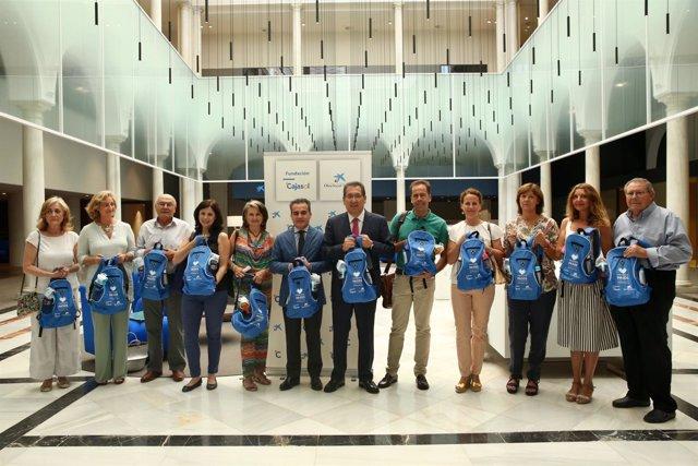 Presentación de la iniciativa de Fundación Cajasol y la Obra Social 'La Caixa'