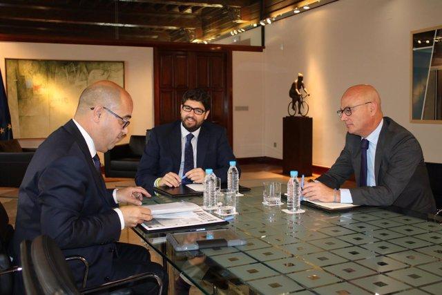 López Miras se reúne con Miguel Martínez