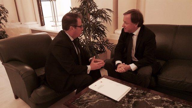 Reunión de Moragues con el director de la DGT