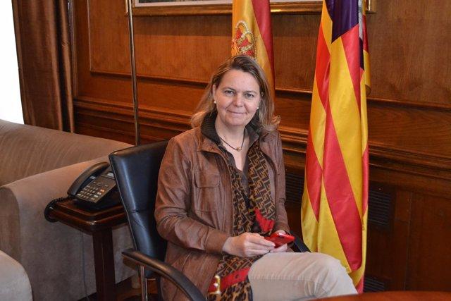 La delegada del Gobierno en Baleares, Maria Salom