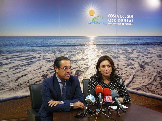 Margarita del Cid y Miguel Briones costa litoral subdelegado mancomunidad