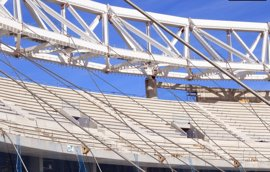 Ayuntamiento recomienda evitar la circulación en avenida de Arcentales por las obras del Wanda Metropolitano