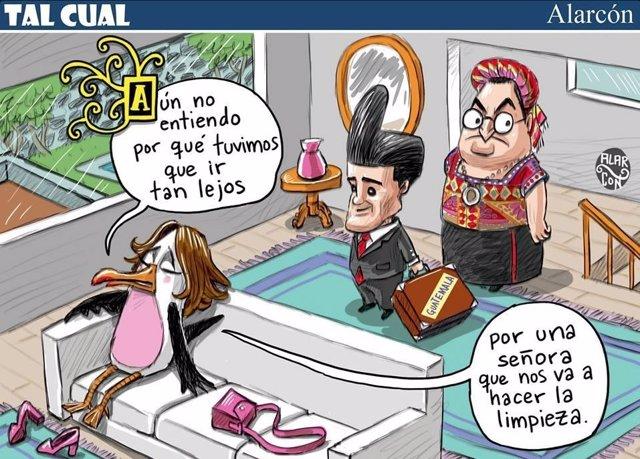 Una caricatura de una revista mexicana es acusada de for Noticias del espectaculo mexicano del dia de hoy