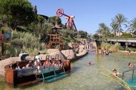 Terra Mítica anticipa a esta semana la apertura de las zonas de baño en las instalaciones de Benidorm