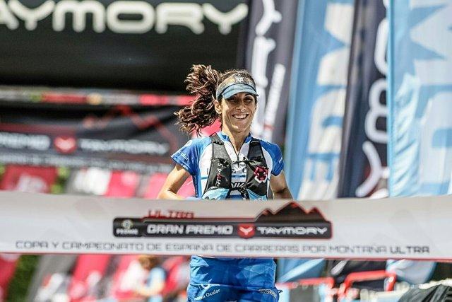 Eva Moreda, campeona de España de carreras por montaña