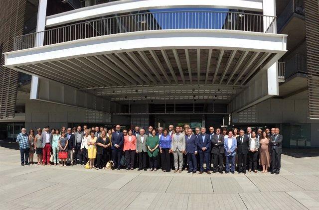 Reunión del comité de apoyo a la candidatura de Barcelona a la EMA