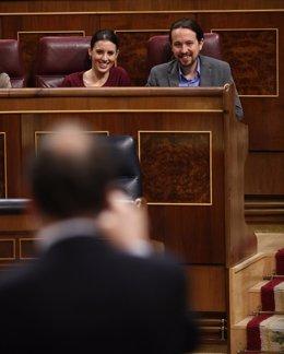 Mariano Rajoy respondiendo a Pablo IGlesias
