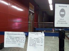 CCOO y UGT critican el cierre de la comisaría de Policía en la estación de Sol y reclaman su reapertura