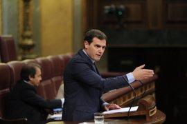 Albert Rivera intervendrá en nombre de Ciudadanos en el debate de la moción de censura