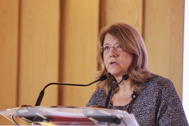 Elvira Rodríguez en el Foro Cinco Días