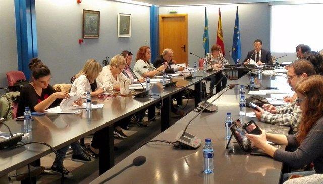 Reunión del Consejo Asturiano de Cooperación al Desarrollo.